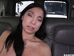 Brunette chicana fucks like theres no tomorrow