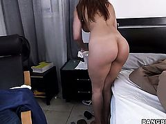 Huge ass maid is getting banged