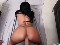 Huge ass Latina loves to get cum