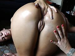 John Stagliano is horny as hell and cant wait any longer to screw alluring Roxy Rayes ass way