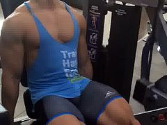 hot gym bulge