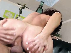 Will Powers wants to drill horny as hell Savannah Foxs bottom forever before she gets her mouth banged