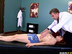 patient penny sucks doctor's dick