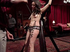 The training is tough, but if they pass, these ladies will be world class sex slaves. The beautiful babes have to show that they can balance two plates at once. If they can, then they will prove that they are worthy of being a bondage queens.
