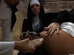 Group sex with lovely nuns