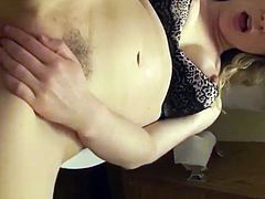 First Time Anal For Hot MILF Amateur