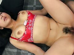 Milf Yuri Honma is so close to orgasm after a few minutes of fucking with her fuck buddy