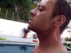 Tiffany Tyler and Rocco Siffredi have oral sex for camera for you to watch and enjoy after backdoor sex