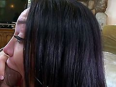 All natural girl loves to suck cock. Gabriella Paltrova is a petite amateur that has a dick in her mouth. She is giving the guy a blow job and is shot full of cum.