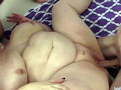 lady lynn and two dudes for double pleasure