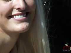Blonde oriental Macy Cartel loves fucking herself for you to watch and enjoy