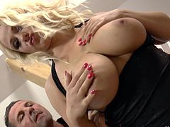 Unforgettable blonde Lilith Lee rides the dick like no one else can