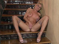 Golden-Haired Randy Moore needs greater quantity and greater quantity sex pleasure