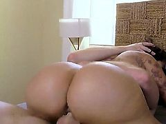 Lela Star makes a sex tape. In it, she is giving a blow job. She hopes this video will make her a starlet and then she will no longer have to work. Help her out by watching.