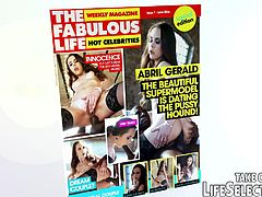 Hot celebrities, juicy gossips, influental, infamous & insatiable businessmen addicted to anything that can be purchased... these are the topics you write about as the gossip columnist of The Fabulous Life tabloid magazine.