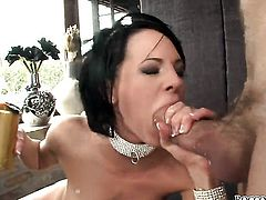 Rocco Siffredi buries his stiff dick in extremely sexy Tara Whites asshole before dick sucking