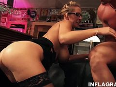 Jana is one hot German Mom that likes it hard. She has a big rack and a fine ass taking a hard pounding in her tight milf pussy.