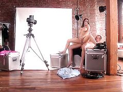 Jenna Presley satisfies mans sexual desires and then gets painted with cock juice
