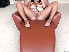 Saucy chicana wench Kiara Mia and horny dude are in the mood for fucking