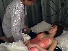 Japanese AV Model acquires several dongs to play with
