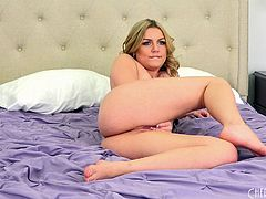 Marley is the sexiest blonde who just loves to suck and to ride