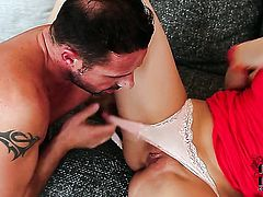 Experienced hooker has some dirty fantasies to be fulfilled with guys hard schlong in her mouth