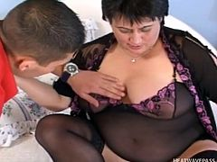 his first time with a bbw @ phat farm