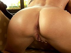 Thrilling chick wants to show how she plays with her private parts