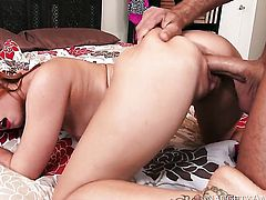 Oriental Dani Jensen gets the pussy fuck of her dreams