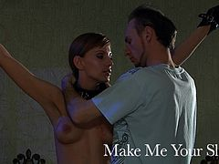 Make Me Your Slave. Promo clip. Pain and humiliation.