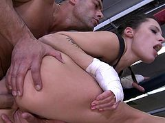 Visit official Asshole Fever's HomepageAppealing boxing beauty screams like a little bimbo when her man starts cracking her butt hole, anal making her feel both pleasure and pain