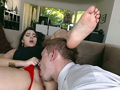 Valentina Nappi top foot fetish home hardcore spectale