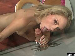Charley Monroe is a busted whore that is always sucking a dick somewhere. If shes not currently bobbing her sleazy head up and down a shaft, shes on her way to her next call like the perfect brain dead blonde fuck puppet.