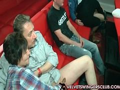 Velvet Swingers Club Gangbang orgy party Real couples only