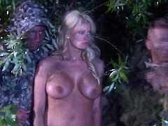 Desiree Diamond satisfies guys sexual desires and then gets covered in man goo