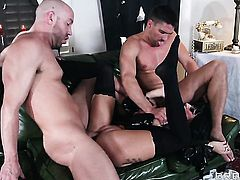 Milf Will Powers  Toni Ribas with big hooters makes mans snake harder before getting her ass stuffed