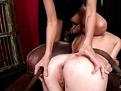 Tiffany Doll cant live a day without taking mans throbbing tool in her bush