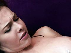Dino Bravo spends her sexual energy with hard love wand in her wet spot