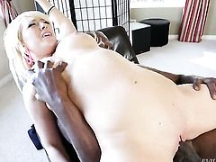 Kagney Lynn Karter looking for a chance to get orgasm after hard hole fucking