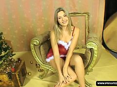 Cherry Jul is so hot in a sexy mummy Christmas lingerie and she gives this dude the best gift of all. Her ass for him to put his dick into. Happy fucking Christmas!!!