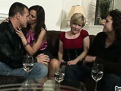 Syren De Mer and her sex partner fuck like rabbits in anal scene