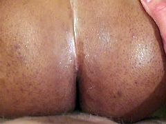 Ebony drilled by white cock A13 1 of 3
