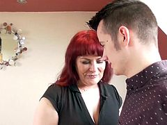 Hot milf and her younger lover 264