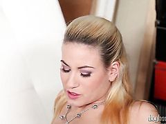 Amazing gal has some dirty anal fantasies to be fulfilled
