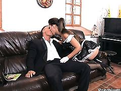 Hot blooded temptress Stacy Silver screams from endless orgasms after getting poked good and hard good and hard by hot dude