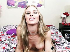 Blonde Nicole Aniston with juicy tits and smooth cunt has sex experience of her lifetime