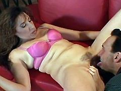Milf with sexy tits and ass fucked anally by a stud