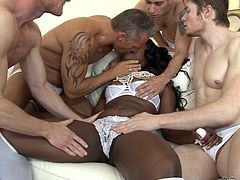 black diamond fucked by white studs @ white out
