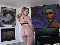 Mia Malkova's big round ass is a treat to watch. Her BF is really lucky and he always tries to please her, by licking tiny asshole. Even though her boyfriend requested several times, she never allowed anal, but the stud always says that her ass is perfect and should be banged hard roughly.