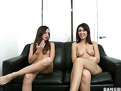 Brunette Natalie Nunez cant live a day without getting fucked by hard cocked dude